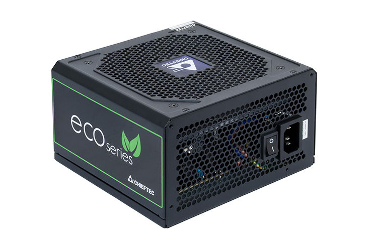 700W ATX Power supply Chieftec GPE-700S, 700W, Black, ATX-12V V.2.3 PSU, FAN 12cm, 85% Bronze, 6xSATA, 2x PCI Express, Retail+Power Cable, Active PFC (Power Factor Correction) (sursa de alimentare/блок питания)