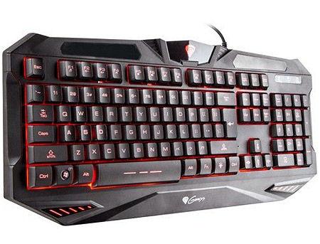 Genesis RX39 Gaming Keyboard, Backlit 3 colors, USB, gamer (tastatura/клавиатура)