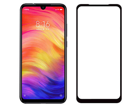 400012 Screen Geeks sticla protectie Xiaomi Redmi Note 8 Full Cover Glass Pro All Glue 4D, Black (защитное стекло для смартфонов Xiaomi, в асортименте)