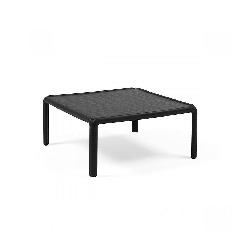 Столик кофейный Nardi KOMODO TAVOLINO ANTRACITE 40378.02.000 (Столик кофейный для сада и террасы)