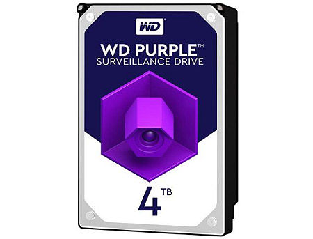 "3.5"" HDD 4TB Western Digital Purple (Surveillance HDD) WD40PURZ, 5400 rpm, SATA3 6GB/s, 64MB (hard disk intern HDD/внутренний жесткий диск HDD)"