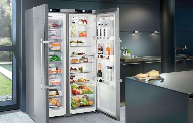 Двухдверные холодильни