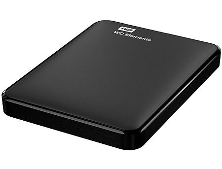 "2.5"" 2TB External HDD WD Elements Portable WDBU6Y0020BBK-WESN, Black, USB 3.0 (hard disk extern HDD/внешний жесткий диск HDD)"