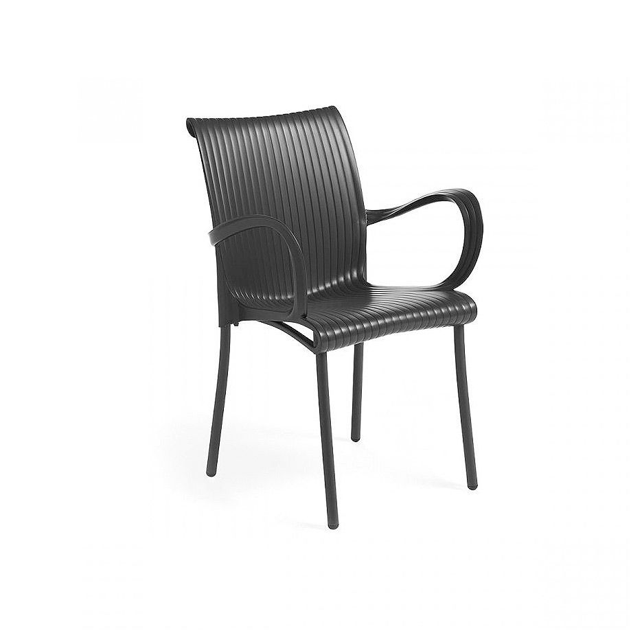 Кресло Nardi DAMA ANTRACITE vern. antracite 61652.02.000 (Кресло для сада и террасы)
