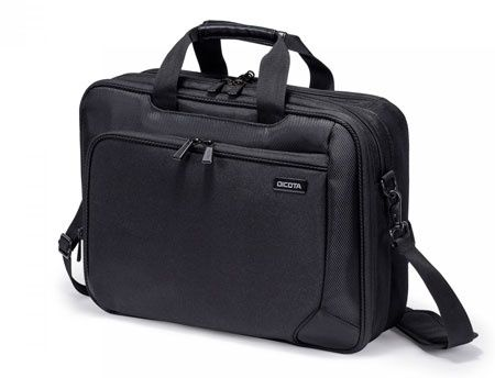 "Dicota D30925 Top Traveller Dual ECO 14""-15.6"", Eco-friendly shoulder bag and backpack with protection and convenience, Black (geanta laptop/сумка для ноутбука)"