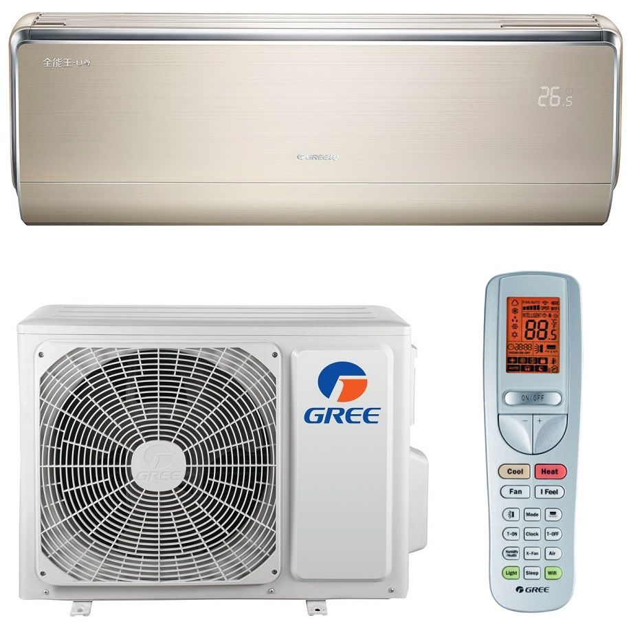 Aparat de aer conditionat tip split pe perete Inverter Gree U-Crown GOLD GWH18UC 18000 BTU