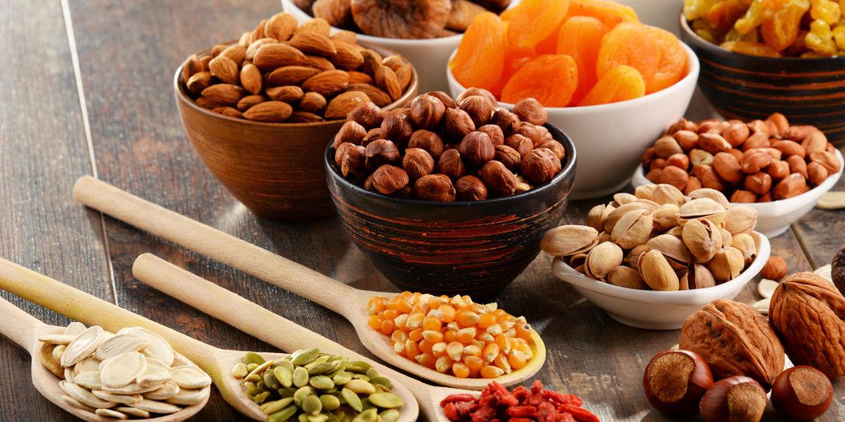 Nuci, seminte, fructe uscate