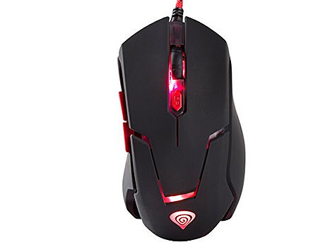 Genesis GX44 Optical Gaming Mouse, 6 programmable buttons, 4 backlight colors, 2500dpi, 4500fps, 30ips, 1000Hz, 2m, USB (mouse/мышь)