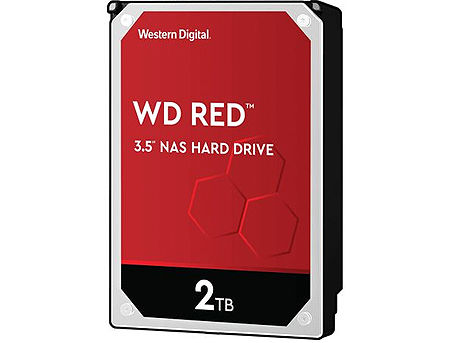 "3.5"" HDD 2TB Western Digital Red (NAS Storage) WD20EFAX, IntelliPower, SATA3 6GB/s, 256MB (hard disk intern HDD/внутрений жесткий диск HDD)"