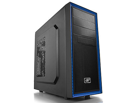 Case Middletower Deepcool TESSERACT BF ATX Black/Blue no PSU, 1xUSB3.0/1xUSB2.0/Audio x 1/Mic x 1, Included: Rear: 1x120mm DC fan; Optional: Front: 1x120mm; Top: 2x120mm; Side: 2x80/90/120mm (carcasa/корпус)