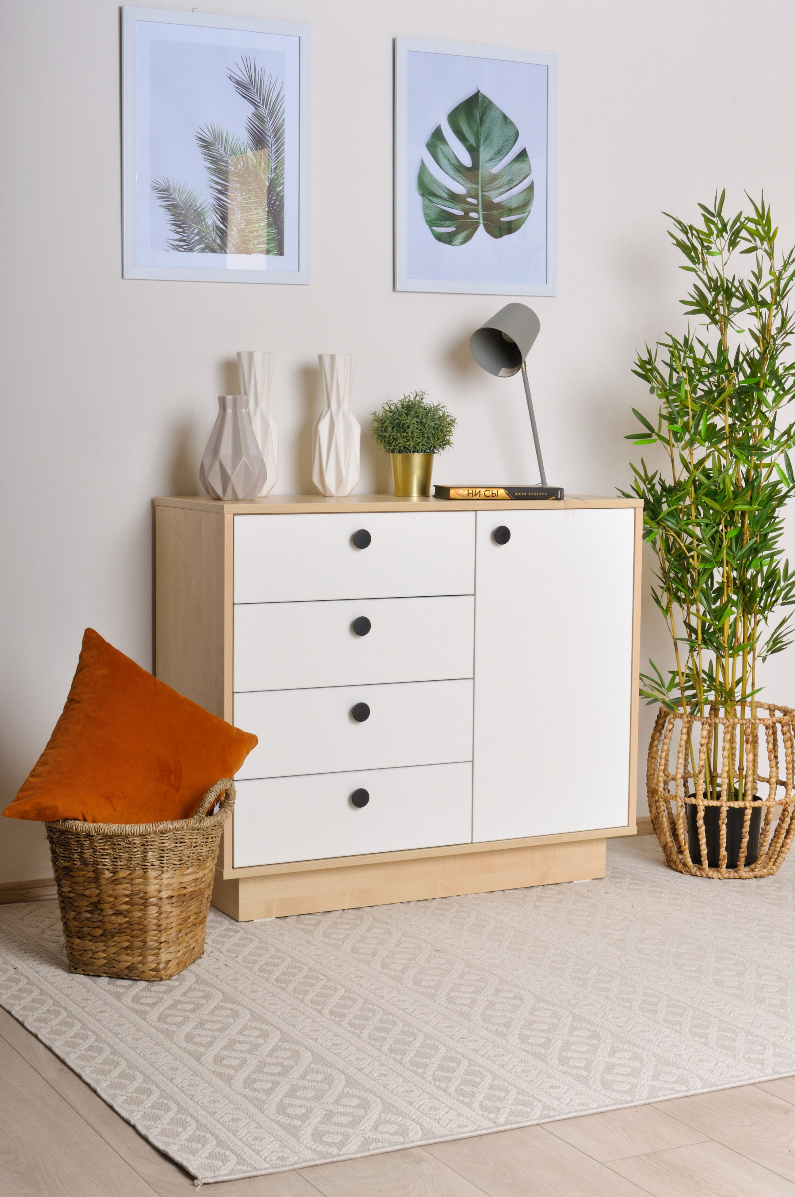 Nightstand and commode