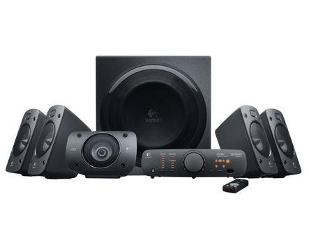 Logitech Speaker System Z906 ( 5.1 surround, RMS 500W, 165W subwoofer, 5x67W satel. ) (boxe sistem acustic/колонки акустическая сиситема)