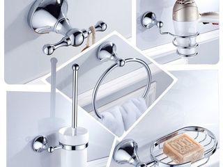 Аксессуары для ванной комнаты и  WC