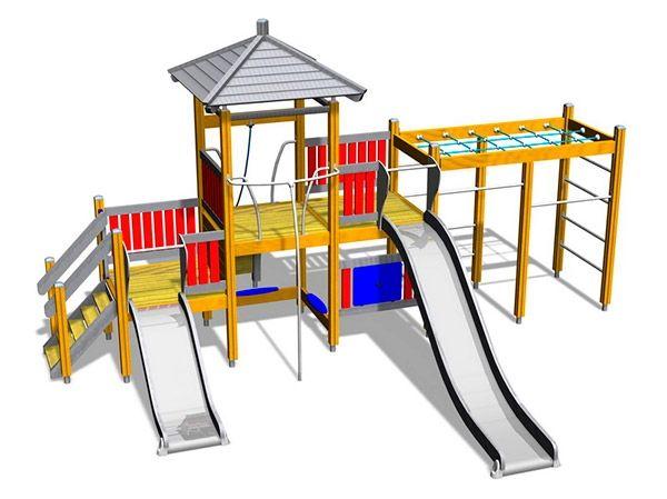 Echipament pentru terenurile de joaca pentru copii