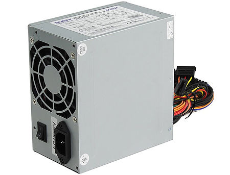 450W ATX Power supply SVEN PU-450AN, 450W, 2xSATA cables, 80mm FAN, Retail (sursa de alimentare/блок питания)