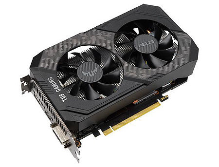 ASUS TUF-GTX1650S-O4G-GAMING, GeForce GTX1650 SUPER 4GB GDDR6, 128-bit, GPU/Mem clock 1800/12002MHz, PCI-Express 3.0, DVI/HDMI/Display Port (placa video/видеокарта)