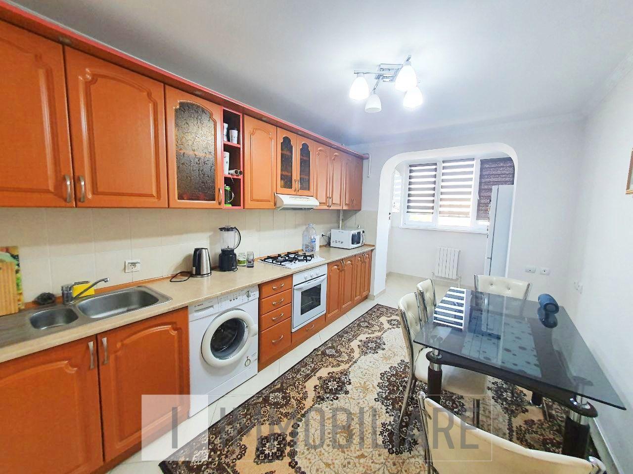 Apartament cu 2 camere+living, sect. Buiucani, str. Vissarion Belinski.