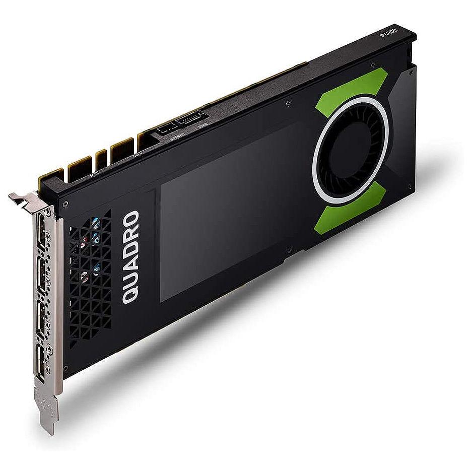 PNY NVIDIA Quadro P4000 8GB GDDR5, 256-bit, PCI Express 3.0 x16, 4xDisplay Port 1.4 (VCQP4000-PB)