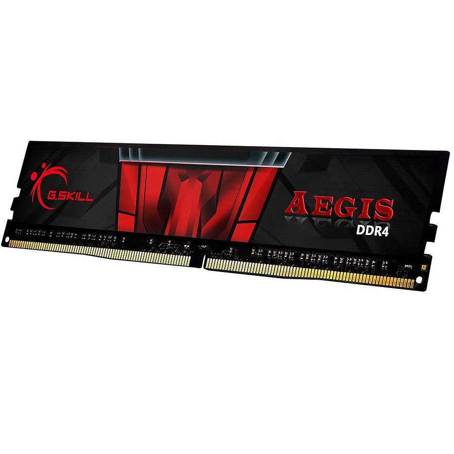Оперативная память 8GB DDR4 G.SKILL Aegis F4-3200C16S-8GIS DDR4 PC4-25600 3200MHz CL16 (memorie/память)