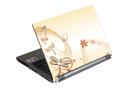 "G-Cube A4-GSE-17N Notebook Skin (Nature), for up to 17"" wide (skin pentru laptop/наклейка на ноутбук)"