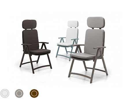 Saltea scaun gradina Nardi ACQUAMARINA acrilic fabric (3 culori)