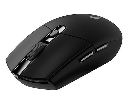 Logitech Gaming Mouse G305 Lightspeed Wireless, High-speed, Hero Gaming Sensor, 6 Programmable buttons, 200-12000 dpi, 1ms report rate 910-005282