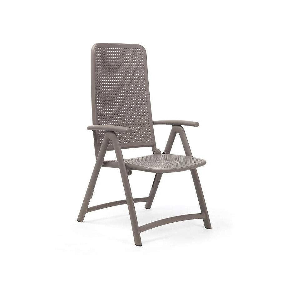 Кресло складное Nardi DARSENA TORTORA 40316.10.000 (Кресло складное для сада и террасы)
