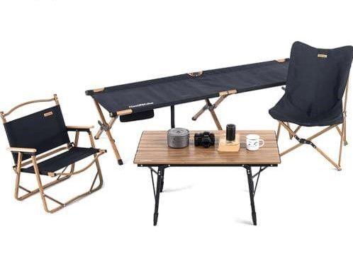 Столы, стулья для кэмпинга, шезлонги