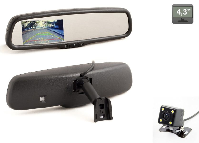 Зеркала с монитором