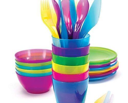 Посуда и приборы одноразовые