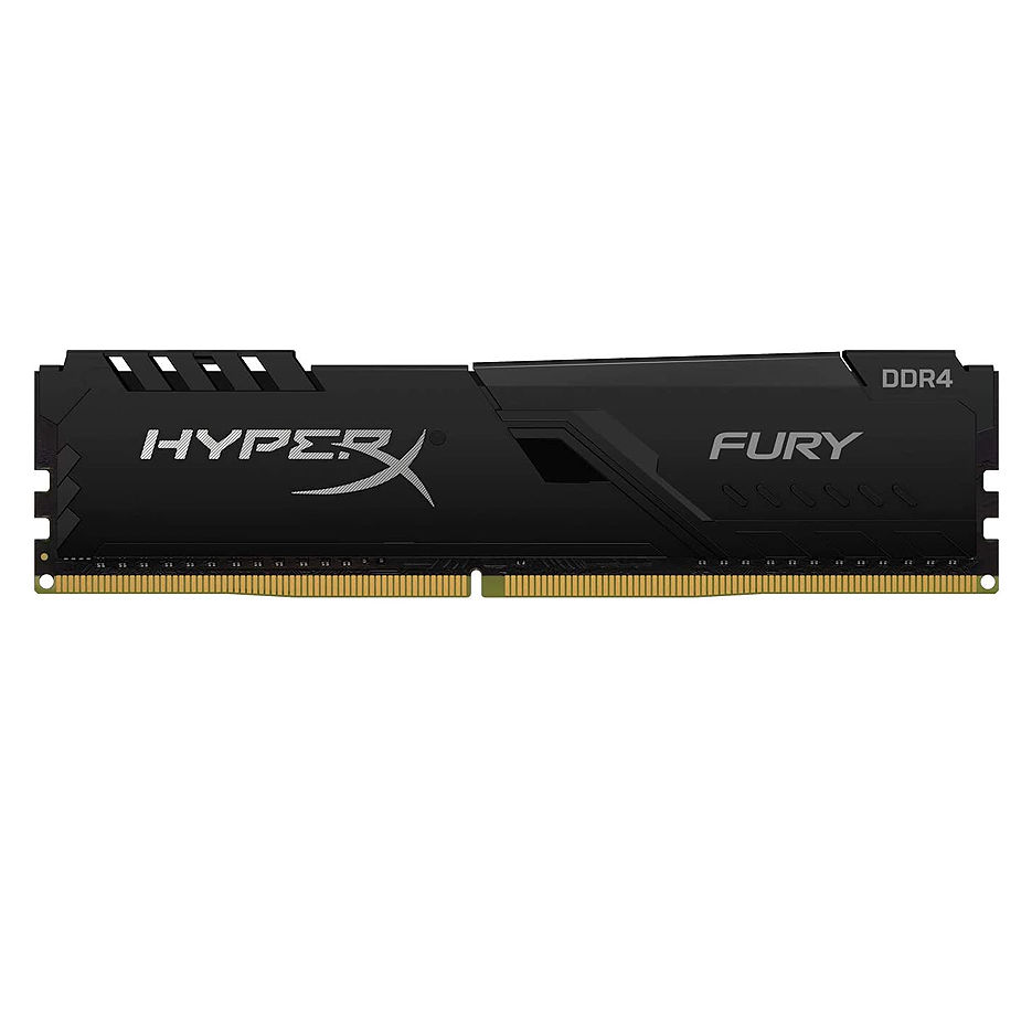 16GB DDR4 Kingston HyperX FURY Black HX432C16FB4/16 DDR4 PC4-25600 3200MHz CL16, Retail (memorie/память)