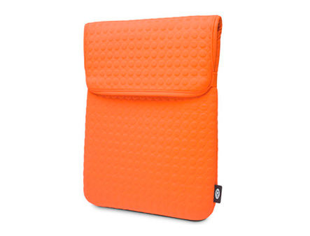 "LaCie Coat 3.5"" orange, notebook or tablet 7""-13.3"", Design by Sam Hecht, Bubble protection, 130893 (husa HDD extern/husa laptop/чехол для ноутбука)"