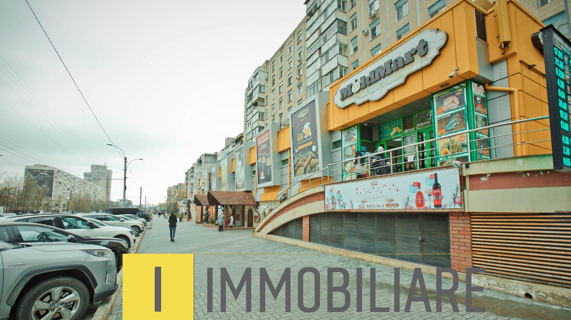 Spații comerciale, sect. Rîșcani, bd. Moscova.