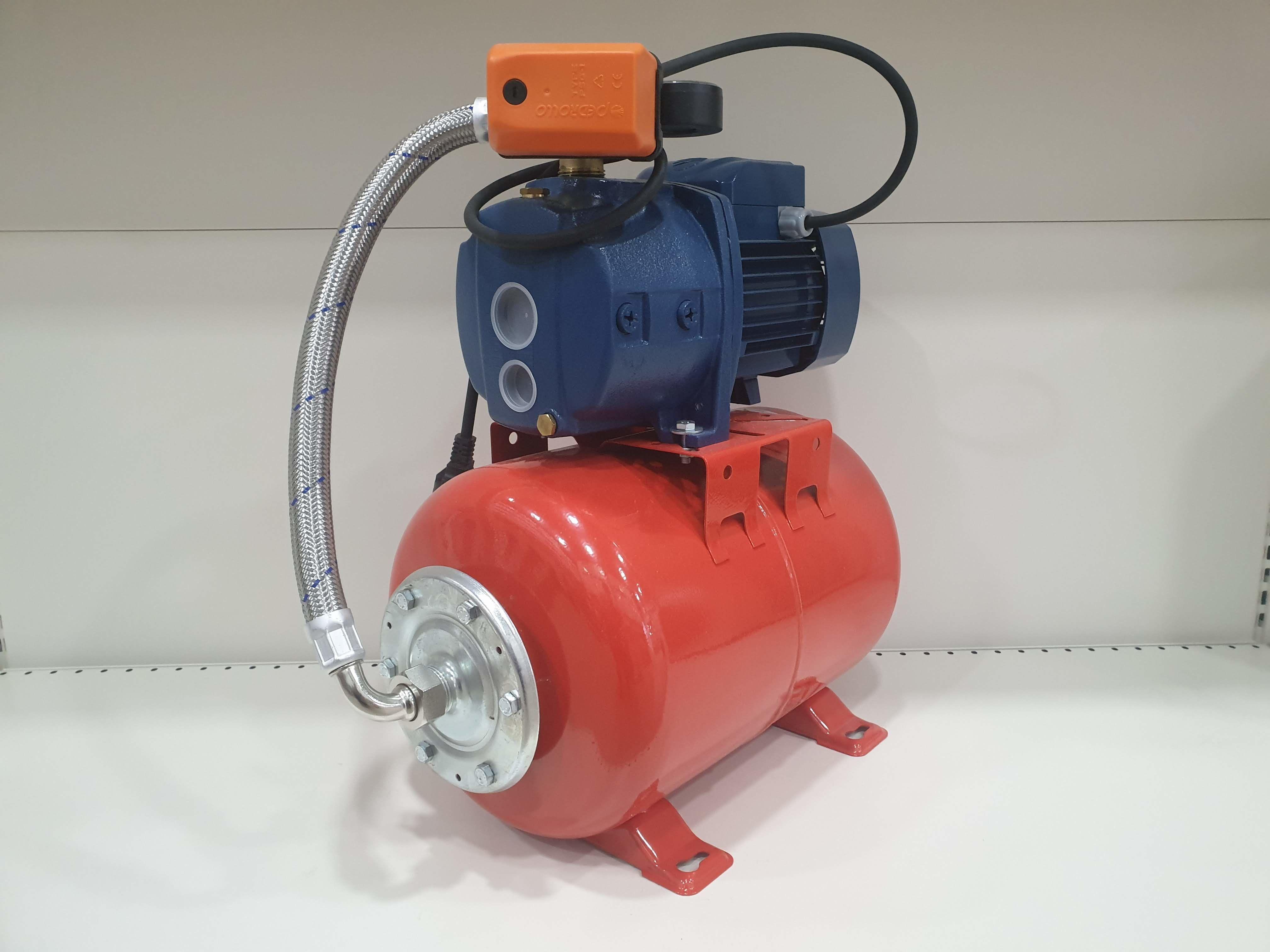 Гидрофор PEDROLLO JDWm1AX/30-4-24CL 0.75кВт 25м