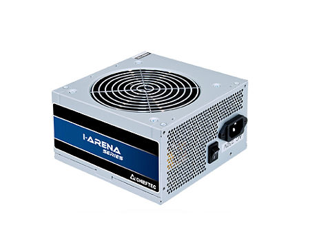 Блок питания 500W ATX Power supply Chieftec GPB-500S, 500W, ATX 12V 2.3, 120mm silent fan, 85 plus, Active PFC (Power Factor Correction) (sursa de alimentare/блок питания)
