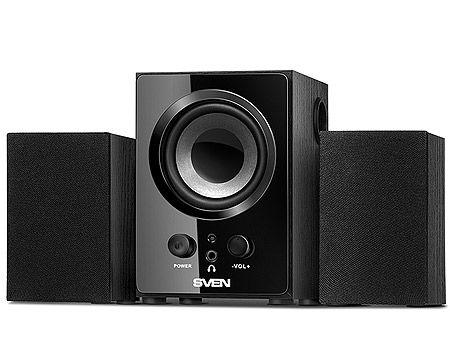 Active Speakers SVEN MS-81 Black ( 2.1 surround, RMS 9W, 5W subwoofer, 2x2W Satellites ) (boxe sistem acustic/колонки акустическая сиситема), www