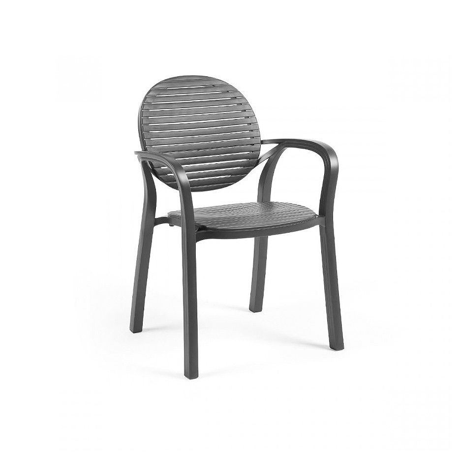 Кресло Nardi GARDENIA ANTRACITE-ANTRACITE 40238.02.002 (Кресло для сада и террасы)
