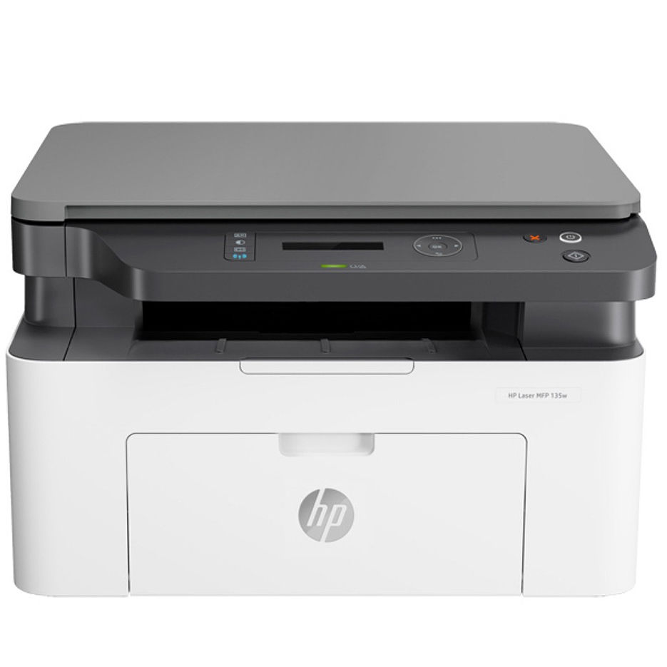 MFD HP LaserJet Pro M135w, White, A4, up to 20ppm, 128MB, 2-line LCD, 1200dpi, up to 10000 pages/monthly, HP ePrint, Hi-Speed USB 2.0,Wi-Fi 802.11b/g/n,Apple AirPrint™; Google Cloud Print™ HP W1106A (106A~1000 pages 5%)
