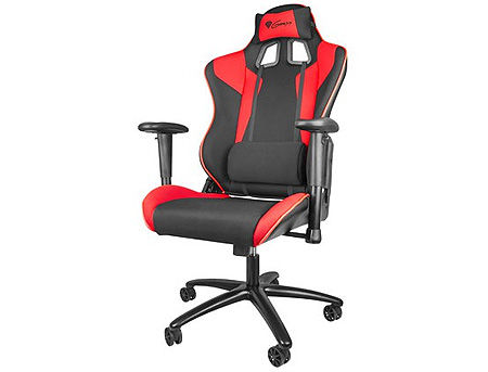 Genesis Nitro 770 (SX77) Gaming Chair, Black/Red, Gaslift Class 4, Maximum Load 150Kg