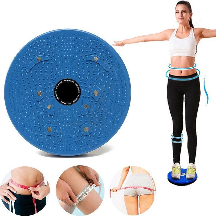 Диск здоровья: упражнения для похудения, польза от занятий + видео.