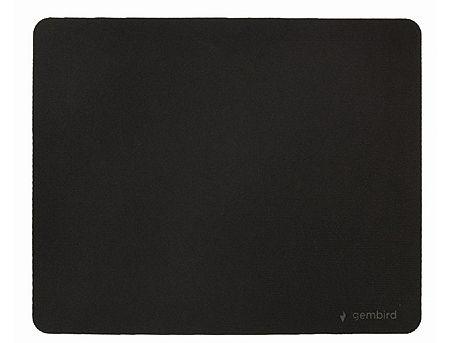 Gembird Mouse pad MP-S-BK, SBR rubber, 22x18, Black