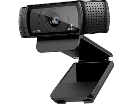 Logitech C920 HD Pro Webcam, Microphone, Carl Zeiss optics with autofocus, Full HD 1080p video capture (up to 1920 X 1080), Photos 15 megapixels (soft. enh.), RightLight2&RightSound, USB 2.0 (camera web/веб-камера), 960-001055