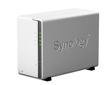 "Synology DiskStation DS220j, 2-bay NAS Server for Personal/Home, CPU QuadCore 1.4GHz, 512MB DDR4, 2 x 3.5"" or 2.5"" SATA3, 2xUSB 3.0, Gigabit LAN (retelistica NAS pentru HDD/сетевой дисковый накопитель для HDD)"