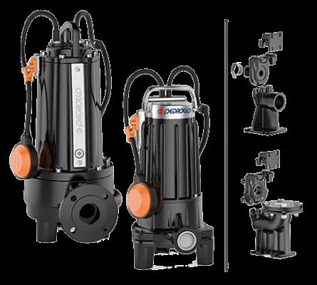 Дренажный фекальный электронасос с измельчителем Pedrollo TRITUS TR1.1 1.1 кВт