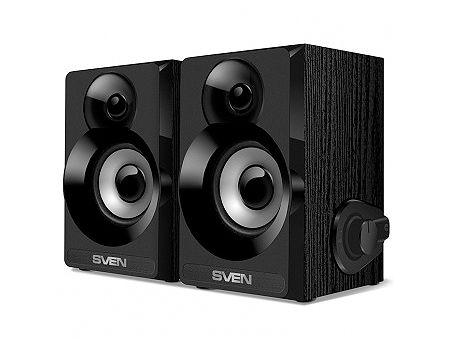 Active Speakers SVEN SPS-517 Black USB, RMS 6W, 2x3W, дерево/lemn (boxe sistem acustic/колонки акустическая сиситема)