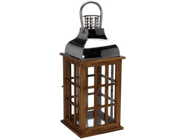 Подсвечники в форме фонарей и цилиндров
