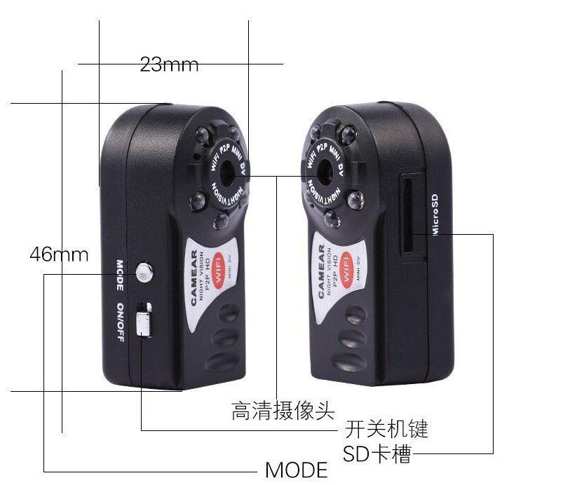 Картинки по запросу Мини WIFI камера Q7