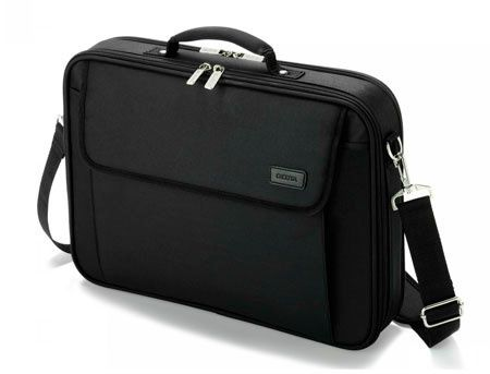 "Dicota D30491-V1 Multi Plus BASE 14""-15.6"" Notebook Case with protective function and document compartment, black (geanta laptop/сумка для ноутбука)"