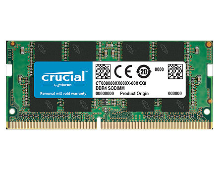8GB SODIMM DDR4 Crucial CT8G4SFS832A PC4-25600 3200MHz CL22, 1.2V