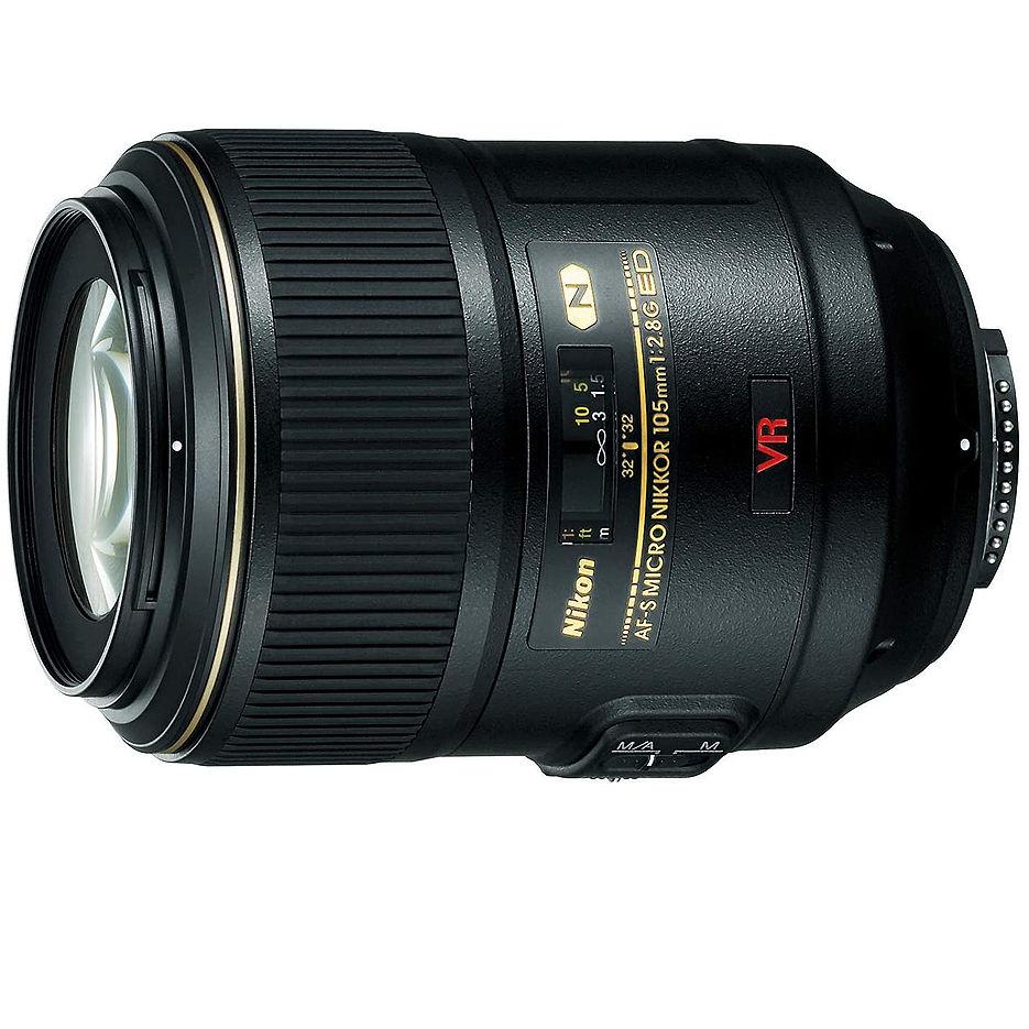 Nikon AF-S VR Micro-Nikkor 105mm f/2.8G IF-ED (Obiectiv Nikon/ обьектив Nikon), JAA630DB